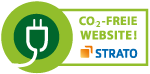 CO2-freie Website! Hoster: Strato.de