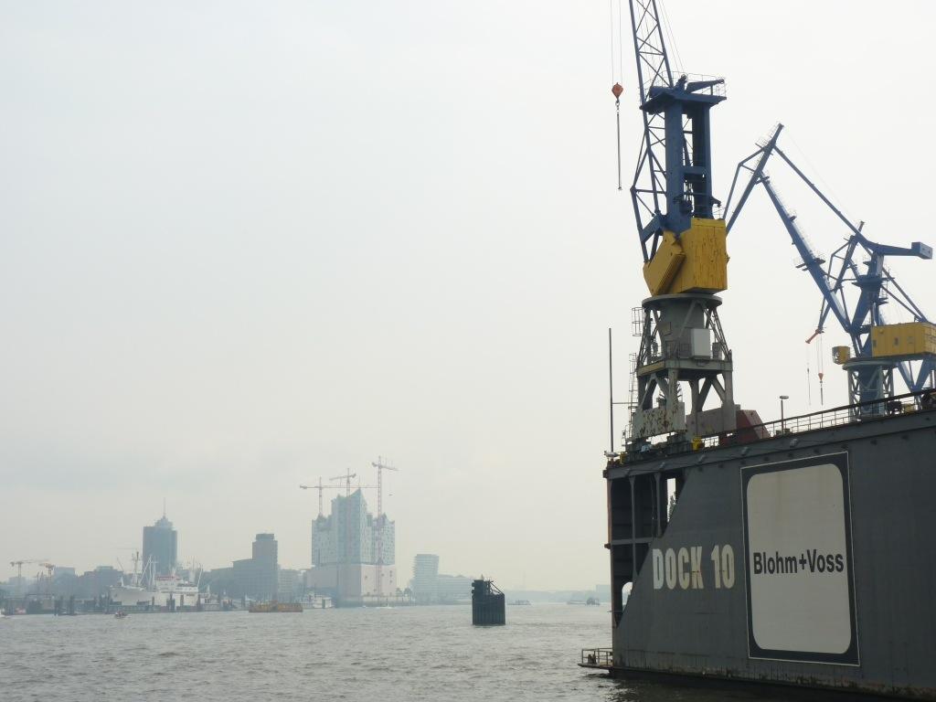 Elbphilharmonie und Dock